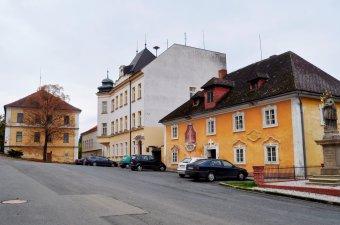 Historické jádro města Poběžovic
