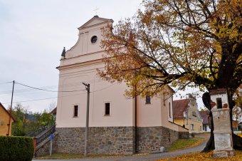 Kostel Navštívení Panny Marie v Běšinech