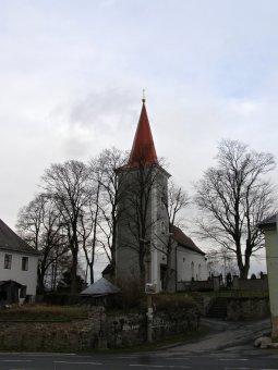 Kostel sv. Václava v Čachrově