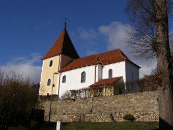 Kostel sv. Kříže v Chanovicích