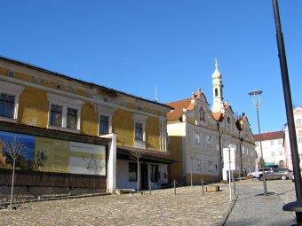 Historické jádro města Kašperských Hor