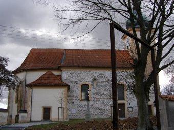 Kostel Nanebevzetí Panny Marie v Myslívu