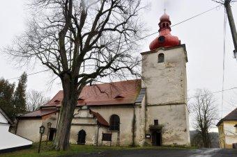 Kostel Všech svatých v Poleni