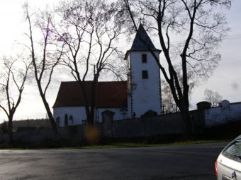 Kostel sv. Jana Křtitele ve Velkém Boru