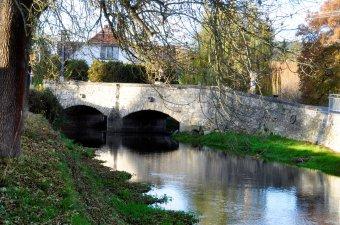Dolní a Horní most v Žichovicích