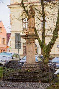 Socha sv. Jana Nepomuckého v Blovicích
