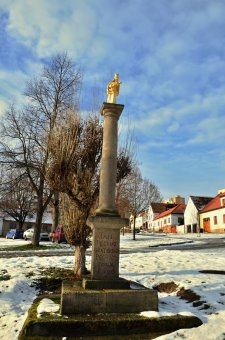 Boží muka a smírčí kříže v Bolevci