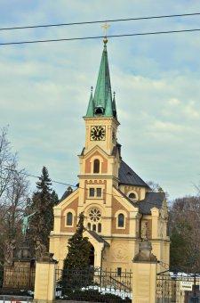 Kaple sv. Václava na Ústředním hřbitově v Plzni-Doubravce