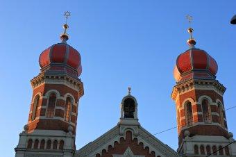Synagoga s rabínským domem (čp. 35, 442) v Plzni-Jižním předměstí