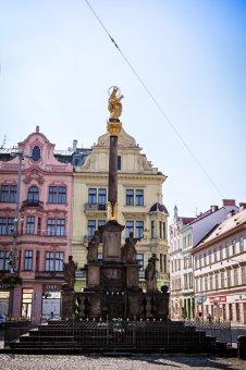 Morový sloup v Plzni