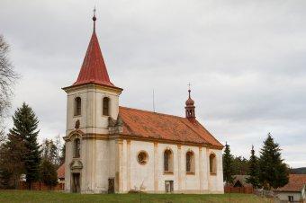 Kostel Nejsvětější Trojice v Čívicích