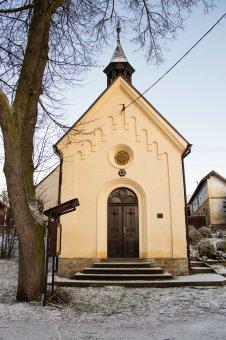Kaple sv. Rodiny v Draženi
