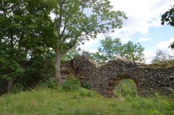 Zřícenina hradu Preitenstein u Nového Městečka