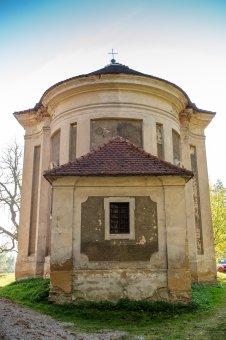 Kaple Navštívení Panny Marie s křížovou cestou v Radnicích