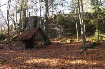 Hradiště Bílá skála u Sklené Hutě