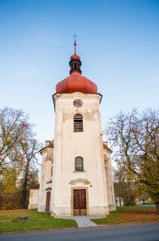 Kostel Nanebevzetí Panny Marie ve Zvíkovci