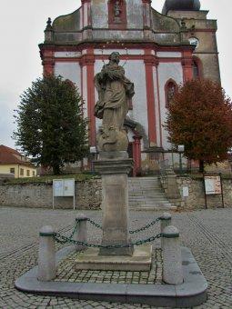 Socha Panny Marie v Boru u Tachova