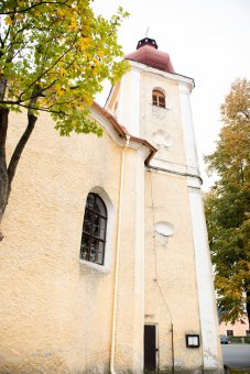 Kostel sv. Anny v Částkově