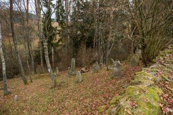 Židovský hřbitov v Kořenu